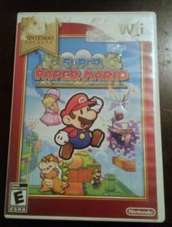 Super Paper Mario Bross Nintendo Wii (nintendo Selects)
