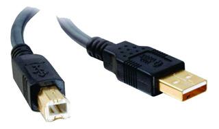 Cable Usb 2mts A-b Impresora 2.0 Hp Epson Brother Samsung Ja