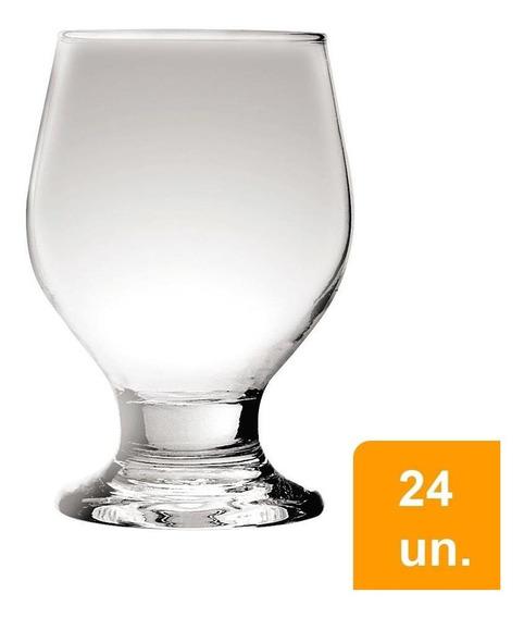 Conjunto De Copos 250ml Paulista Água 24 Peças - Nadir