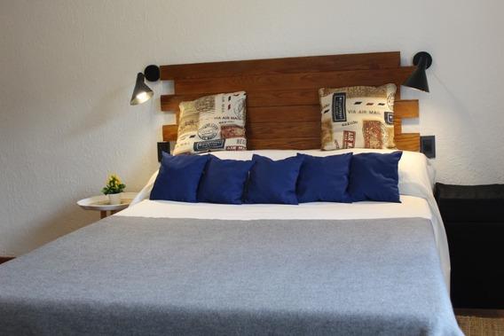 Luminosa Casa Con 1 Dormitorio Amueblada C/ 2 Terrazas