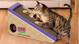 Rascador Kong Carton Coarrugado Incline Cat Scratcher