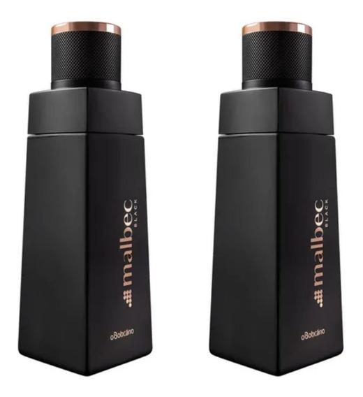 Combo 02 Perfume Malbec Black Des Colônia 100ml Oboticário