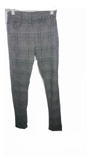 Pantalon Cuadrille Gris Talle 40/42