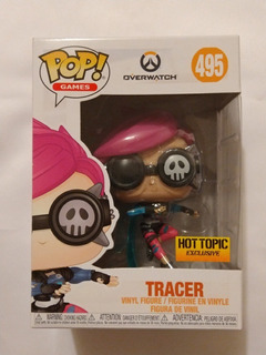 Funko Pop - Overwatch - Tracer - Hot Topic