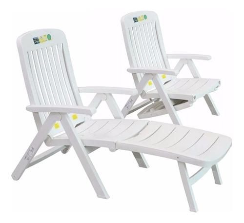 Cadeira Espreguiçadeira Jardim Praia Piscina 3 Posições