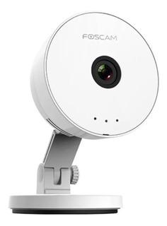 Camara Ip Wifi Interior 1mp Hd Slot Sd Foscam Audio S/fuente
