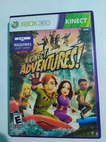 Jogo Para Kinect Adventures Mídia Física Xbox 360 Original