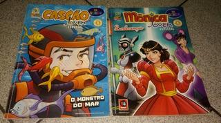 Hq Monica Jovem Especial - 2 Revistas Mônica/cascão Jovem