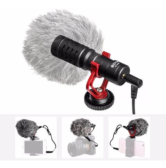 Microfone Boya By-mm1 Direcional Canon Nikon Smartphone P2