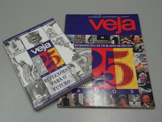 Revista E Livro Edições Especiais 25 Anos Veja