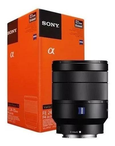 Lente Sony Fe 24-70mm F/4 Zeiss E-mount Nacional Lacrada