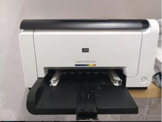 Impressora Hp Color Laserjet Cp1025 Para Tranfer Laser