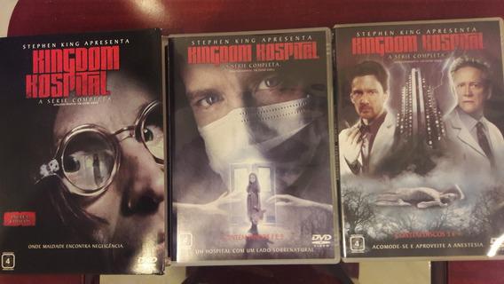 Kingdon Hospital-serie Completa-04 Dvd Original-stephen King