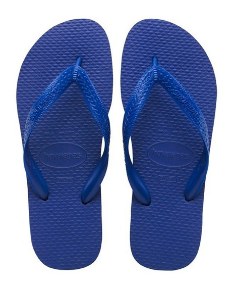 Ojotas Havaianas Color Azul Unisex Originales Hombre