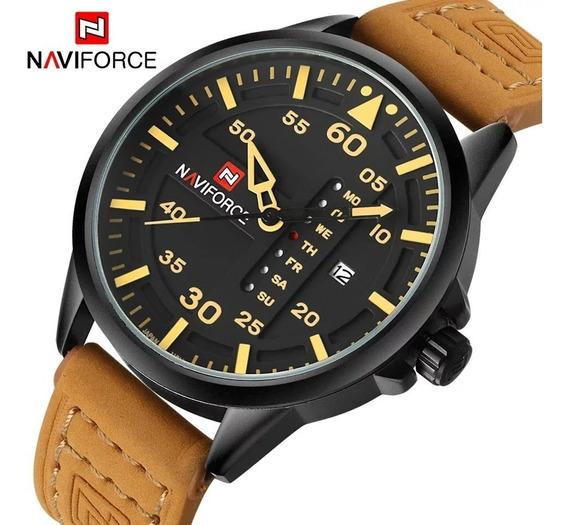 Relógio Analógico Naviforce Original Promoção