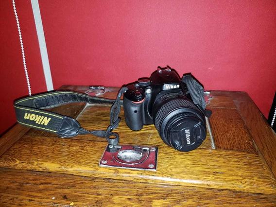 Cámara Nikon Réflex Profesional D5100 Lente 18-55 Caja Bolso