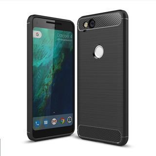 Funda Premium Google Pixel 1 / 1xl / 2 / 2xl / 3 / 3xl / 3a / 3a Xl / 4 / 4xl Case Protector Jelly 5 Carbono