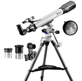 Telescopio Eq Refractor Telescopio Scope Mm Aperture Y