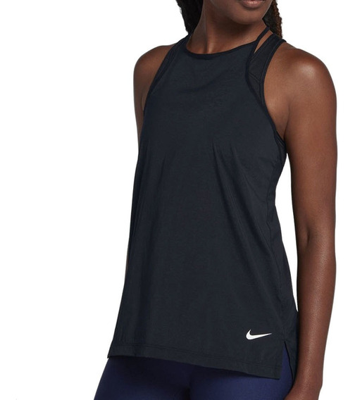 Musculosa Nike Elastika Preta Mujer