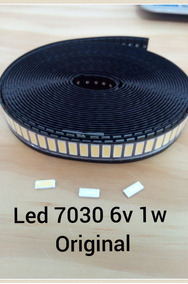 Kit 10 Led Smd 7030 6v 1w Original