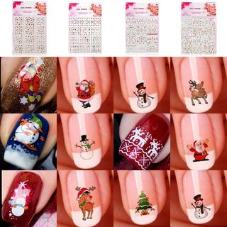 Stickers Para Uñas Navidad Manicure Y Pedicure En Mercado