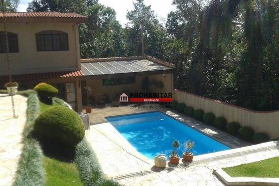 Casa Com 4 Dormitórios À Venda, 330 M² Por R$ 890.000 - Embu Guacu - Embu-guaçu/são Paulo - Ca3191
