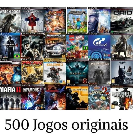 500 Jogos De Ps3