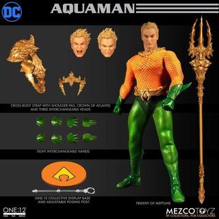 Mezco One:12 Aquaman Dc Comics