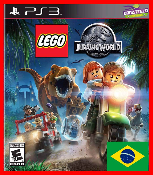 Lego Jurassic World Park Ps3 Psn Dublado Portugues Br
