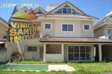 Casa Em Condomínio Para Venda Em Rio De Janeiro, Recreio Dos Bandeirantes, 4 Dormitórios, 3 Suítes, 5 Banheiros, 3 Vagas - 6101
