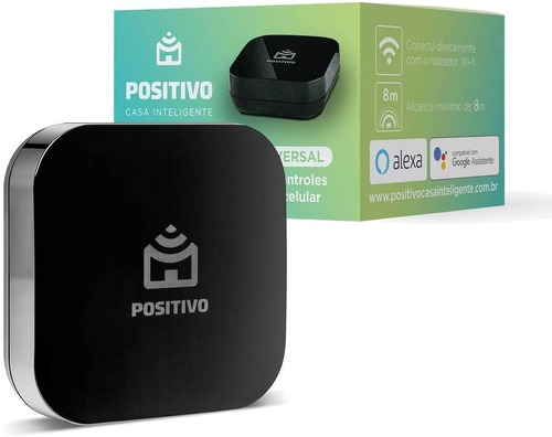 Smart Controle Universal Wi-fi Casa Inteligente Positivo