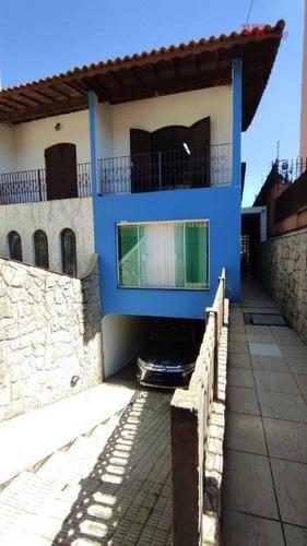 Imagem 1 de 23 de Sobrado Com 3 Dormitórios À Venda Por R$ 900.000,00 - Vila Valparaíso - Santo André/sp - So0865