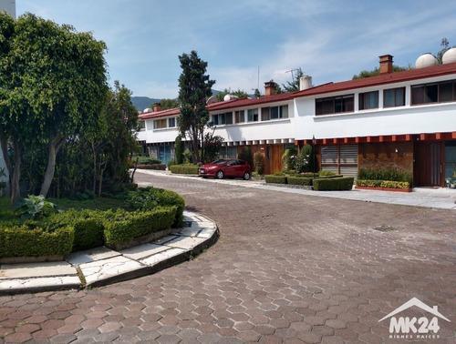 Casa En Condominio En San Jeronimo Con Cuatro Recamaras