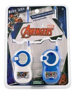 Walkie Talkie Avengers Spiderman Cars Personajes Disney Tv