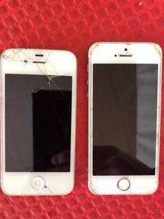 Apple iPhone 4 E 5s Atenção Para Peças