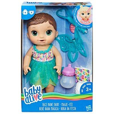 Brinquedos Meninas Baby Alive Hora Da Festa Morena Hasbro