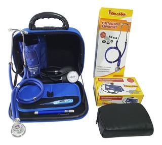 Kit Estudante Enfermagem +termômetro + Lanterna + Bolsa