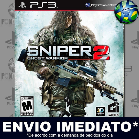 Sniper Ghost Warrior 2 Ps3 Psn Jogo Em Promoção Play 3