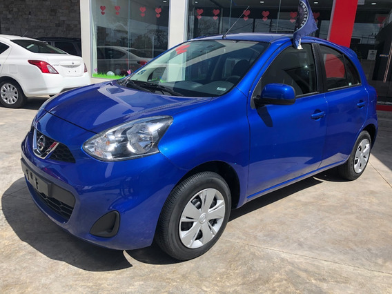 Nissan March 1.6 Sense Mt 2018 Azul