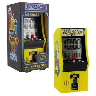 Reloj - Alarma Diseño Arcade De Pac-man