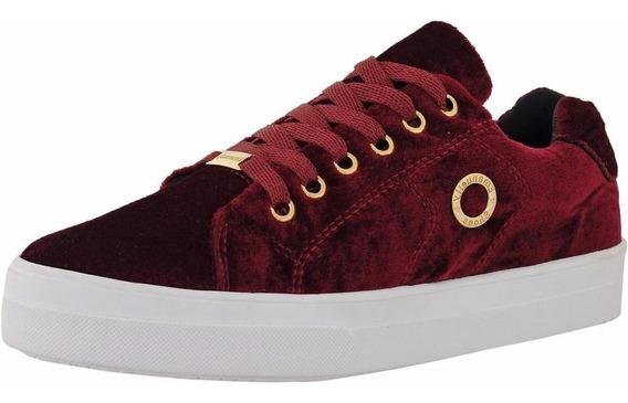 Tênis Feminino De Veludo Emanuelly Shoes