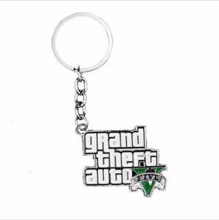 Chaveiro Grand Theft Auto V Gta 5 Rockstar Games