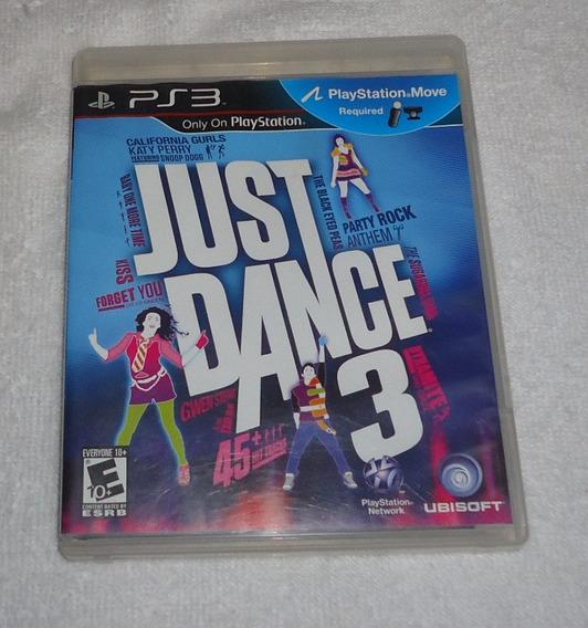 Just Dance 3 Ps3 ** Frete Gratis Leia