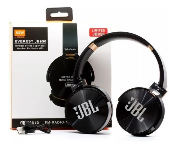 Jbl Fone De Ouvido Bluetooth Jbl950 Sem Fio Rádio Fm