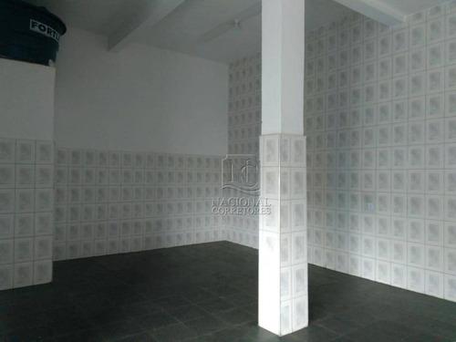 Salão Para Alugar, 75 M² Por R$ 2.000,00/mês - Jardim Do Estádio - Santo André/sp - Sl0906
