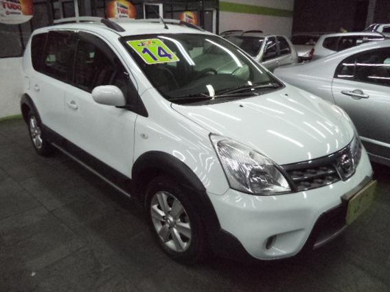 Nissan Livina X-gear 1.8 Flex Completo Rodas 2014 Branco