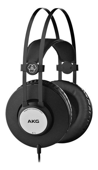 Fone Ouvido Akg Over Ear K72 Profissional Nf E Garantia