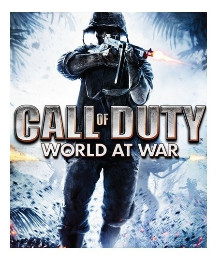 Call Of Duty World At War-pc-dvd(midia Fisica)