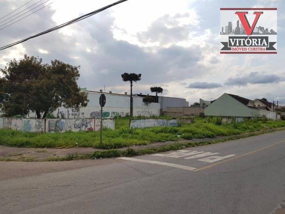 2 Terrenos À Venda, 1566 M² Por R$ 1.200.000 - Boqueirão - Curitiba/pr Aceita Sobrado Na Permuta - Te0298