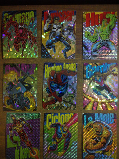 Marvel Cards Y Otras Varias En Buen Estado.